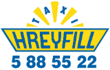 Hreyfill Taxi Station in Reykjavik Iceland | Taxi Service and Sightseeing Logo